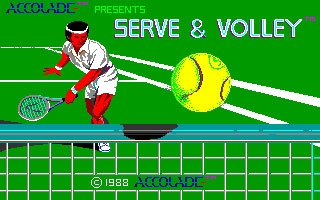 Serve And Volley image