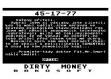 Логотип Emulators DIRTY MONEY [XEX]
