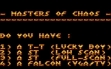 logo Emulators MASTERS OF CHAOS [ST]