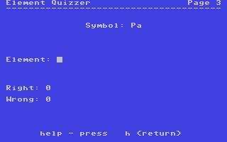 Element Quizzer image