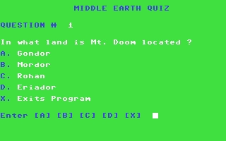 Middle Earth Quiz image