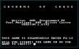 logo Emulators CAVERNS OF CHAOS