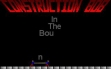 logo Emulators Construction Bob in the Bouncing Factory (1993)