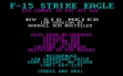 Логотип Emulators F-15 Strike Eagle (1985)