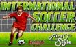 logo Emulators International Soccer Challenge (1990)