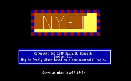 Nyet (1988) image