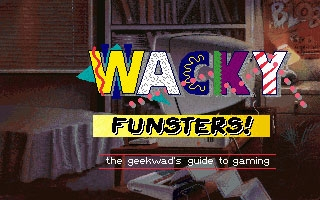 Wacky Funsters! The Geekwad's Guide to Gaming (1992) image