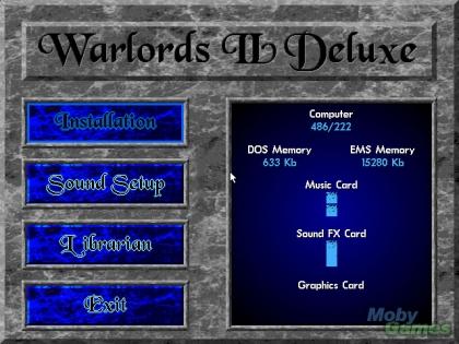 WARLORDS II DELUXE image