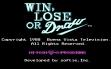 logo Emulators WIN, LOSE, OR DRAW
