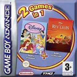 2 Games in 1 - Disney Princesse + Le Roi Lion [Spain] image