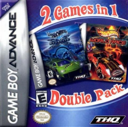2 Games in 1 - Hot Wheels - Velocity X + Hot Wheel [USA] image