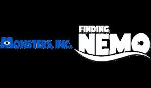 2 Games in 1 - Monsters en Co. + Finding Nemo [USA] image