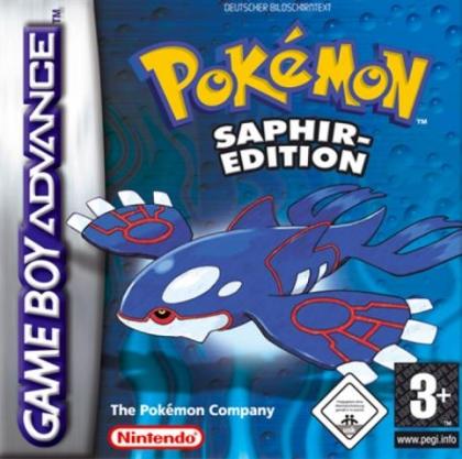 Pokémon : Saphir-Edition [Germany] image