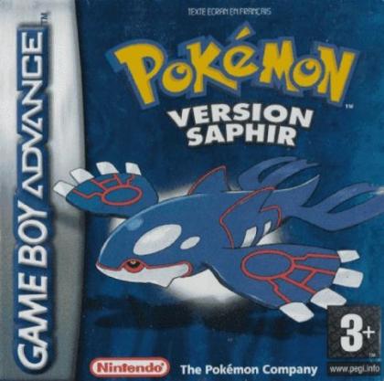 Pokémon : Version Saphir [France] image