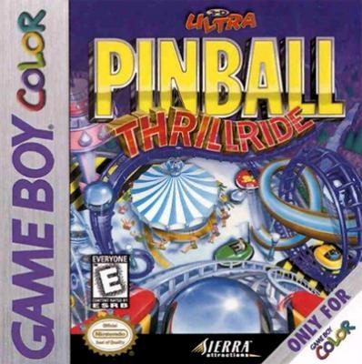 3-D Ultra Pinball : Thrillride [USA] image