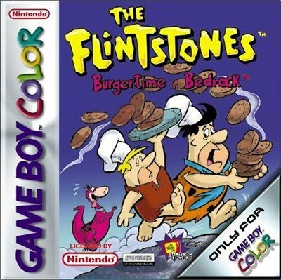 The Flintstones: Burgertime in Bedrock [Europe] (Beta) image