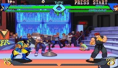 X-MEN VS. STREET FIGHTER [USA] (CLONE) image
