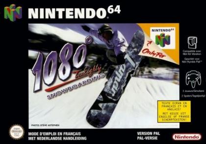 1080 TenEighty Snowboarding [Europe] image