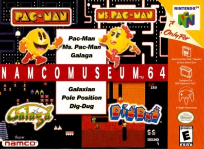 Namco Museum 64 [USA] image