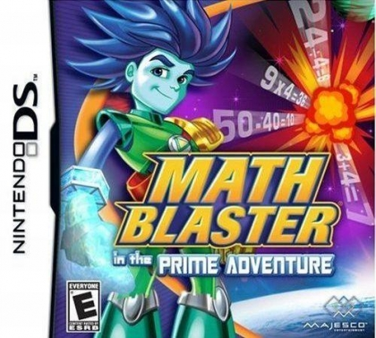 Math Blaster in the Prime Adventure image