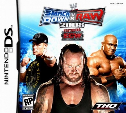 WWE SmackDown vs Raw 2008 featuring ECW (Clone) image