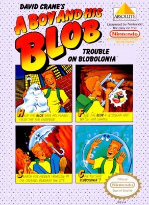 A Boy and his Blob : Trouble on Blobolonia [USA] image