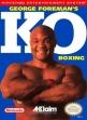 logo Emuladores George Foreman's KO Boxing [USA]