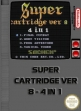 Logo Emulateurs Super Cartridge Ver 8 : 4 in 1 [Asia] (Unl)
