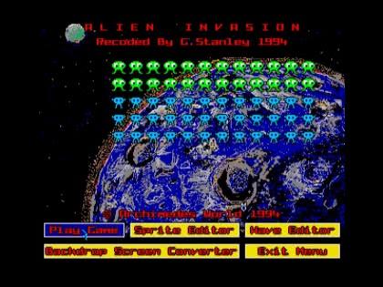 Alien Invasion (1994)(Archimedes World)[a] image