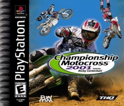Championship Motocross 2001 featuring Ricky Carmic (Clone) image