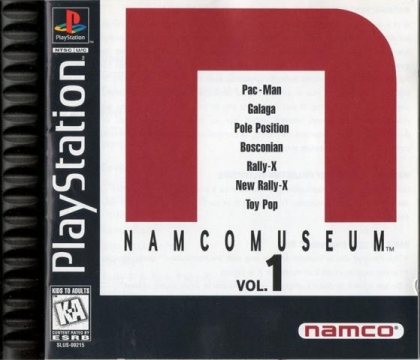 Namco Museum Vol.1 image
