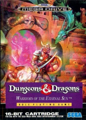 Dungeons & Dragons : Warriors of the Eternal Sun [Europe] image