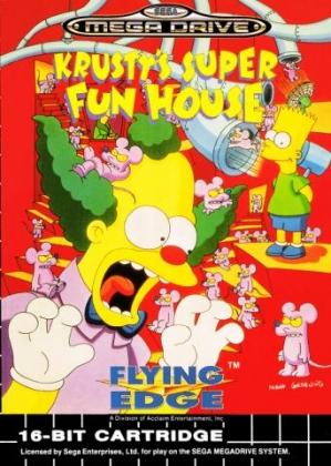 Krusty's Super Fun House [Europe] image