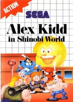 ALEX KIDD IN SHINOBI WORLD [EUROPE] image