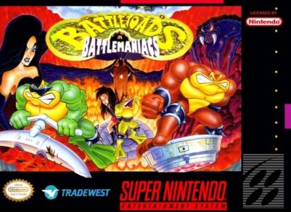 Battletoads in Battlemaniacs SNES ROM