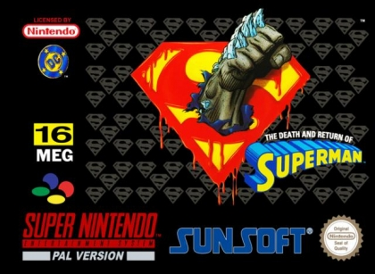 The Death and Return of Superman [Europe] image
