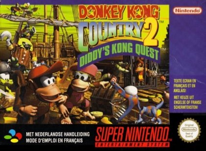 Donkey Kong Country 2 : Diddy's Kong Quest [Europe] image