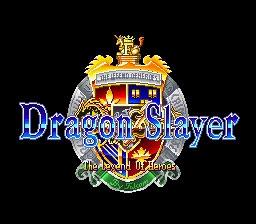 Dragon Slayer - Eiyuu Densetsu [Japan] image