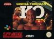 logo Emulators George Foreman's KO Boxing [Europe]