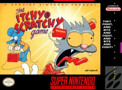 The Itchy & Scratchy Game [USA] image