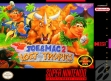 Логотип Emulators Joe & Mac 2 : Lost in the Tropics [USA] (Beta)