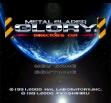 logo Emulators Metal Slader Glory - Director's Cut [Japan]