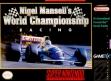 Логотип Emulators Nigel Mansell's World Championship Racing [Europe]
