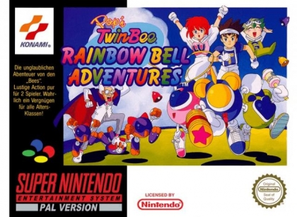 Pop'n TwinBee : Rainbow Bell Adventures [Europe] image