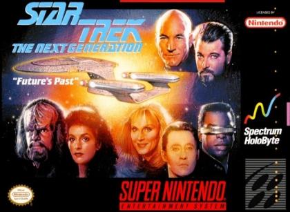 Star+Trek+ +The+Next+Generation+ +Future's+Past+ Europe  image