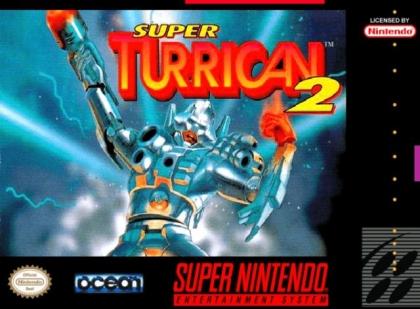 Reproduction SNES Region Free Super Turrican 2