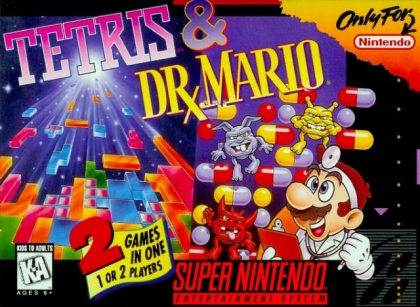 Tetris & Dr. Mario [USA] image