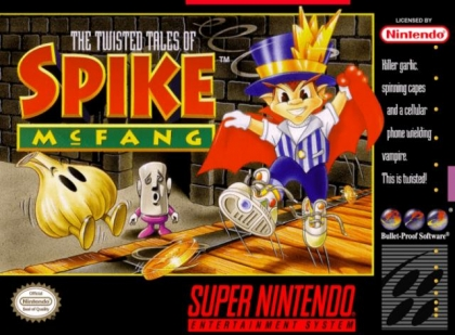 The Twisted Tales of Spike McFang [USA] image