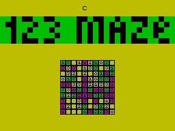 123 MAZE image