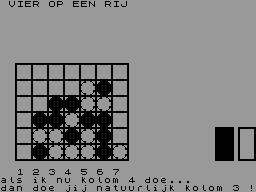 VIER OP EEN RIJ (CLONE) image